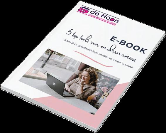 E-book 5 top tools voor ondernemers